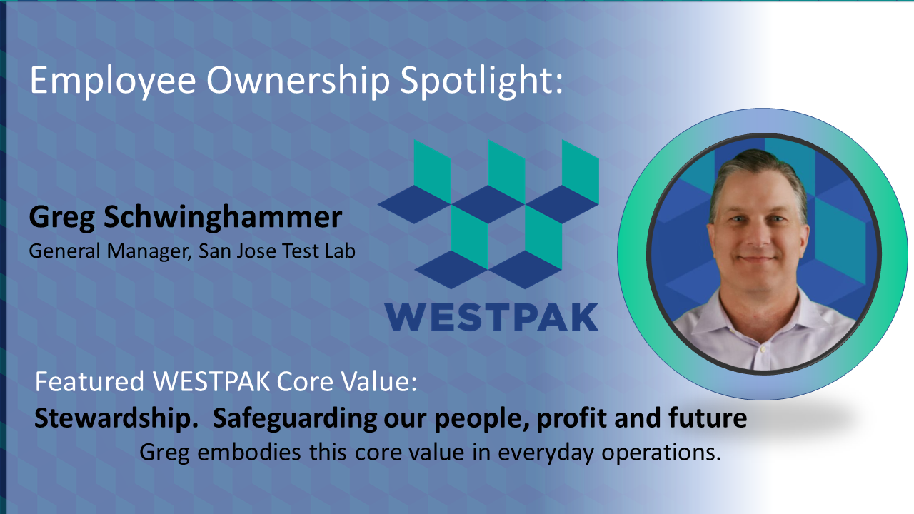 Employee Owner Spotlight: Greg Schwinghammer Featured Image