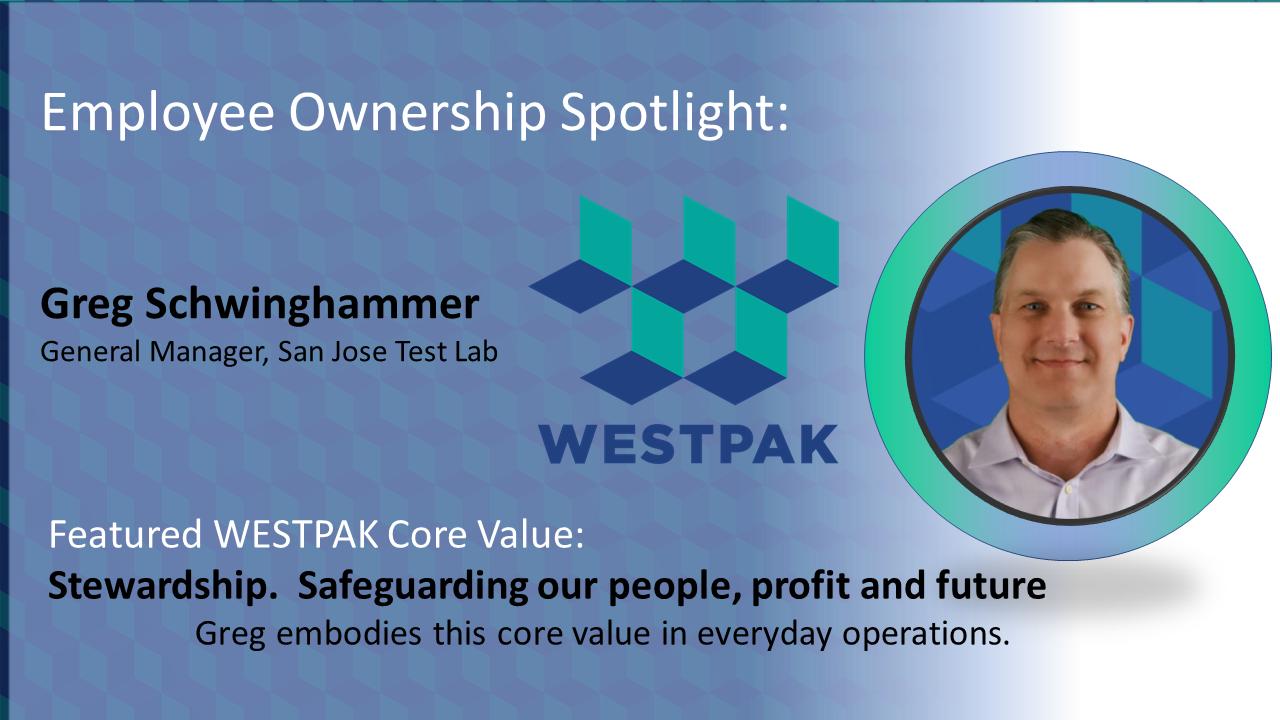 Employee Owner Spotlight: Greg Schwinghammer